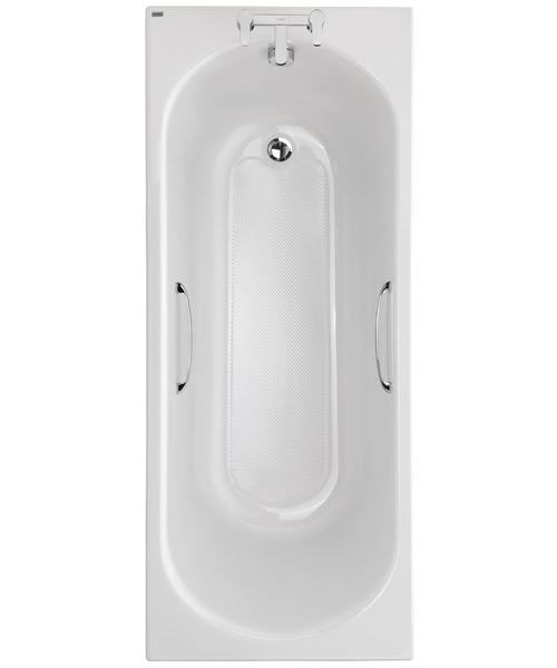 Twyford Opal 1700 x 700mm 2 TH 179 Litres Acrylic Bath With Tread And Grips