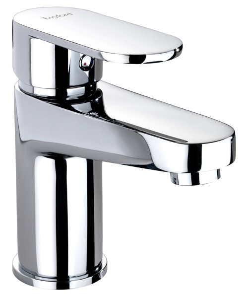 Twyford X70 Deck Mounted Mono Basin Mixer Tap With Click Clack Waste