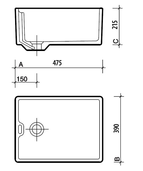 Technical drawing 5032 / FC1211WH