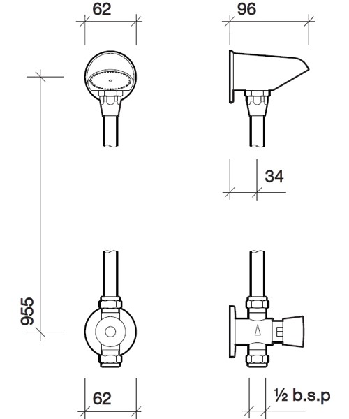 Technical drawing 13951 / SF1205CP