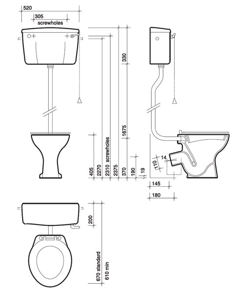 Technical drawing 7602 / CC1138WH