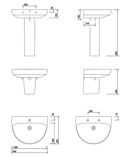 Technical drawing 40592 / E14331WH