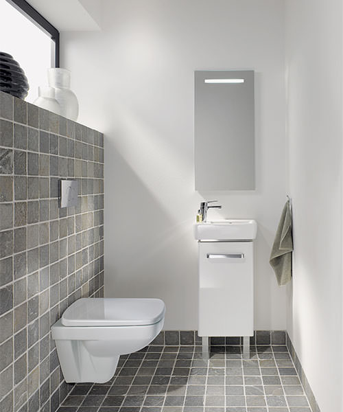 Additional image of Twyford E200 Flushwise 480mm Wall Hung Compact WC Pan