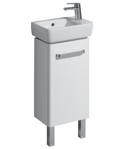 Additional image of Twyford E200 Single Tap Hole 400 x 250mm Handrinse Washbasin