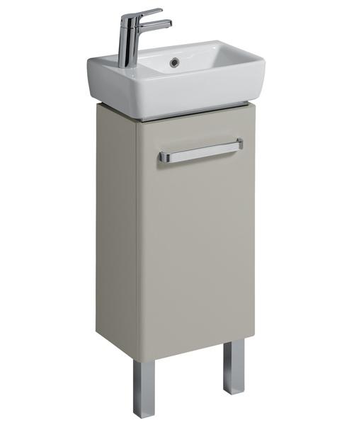 Alternate image of Twyford E200 Single Tap Hole 400 x 250mm Handrinse Washbasin