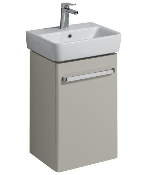 Twyford E200 40cm Grey Unit For 45cm Single Or Two Tap Hole Washbasin
