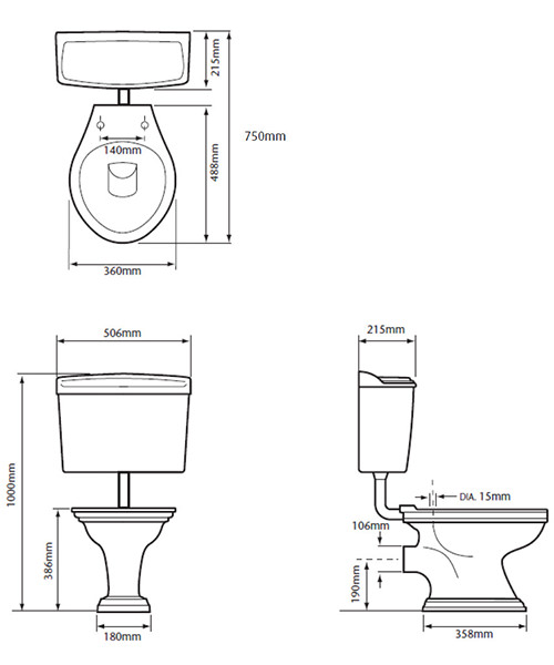 Technical drawing 21681 / PVEW00