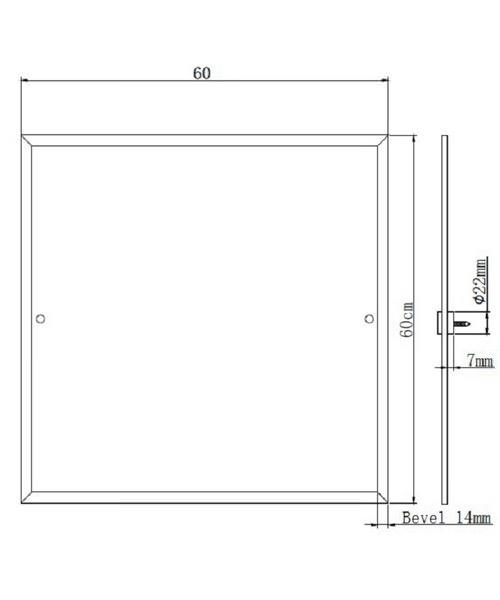 Technical drawing 46810 / MHDSQC