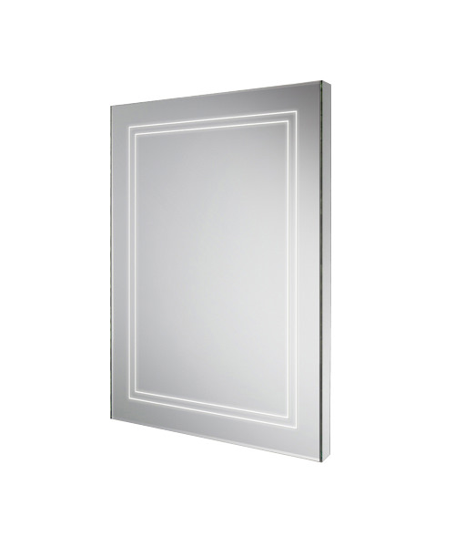 Alternate image of HiB Outline 50 Bathroom Mirror With Back-Lit LED - W 500 x H 700mm