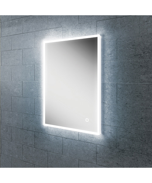 HIB Vega 40 LED Illuminated Mirror 400 x 700mm