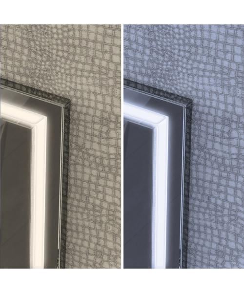 Additional image of HIB Spectre 50 Portrait LED Illuminated Mirror 500 x 700mm