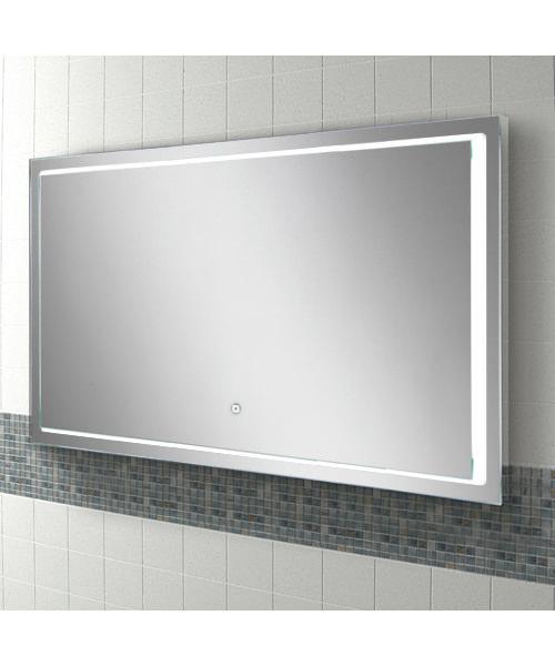 Alternate image of HIB Spectre 50 Portrait LED Illuminated Mirror 500 x 700mm