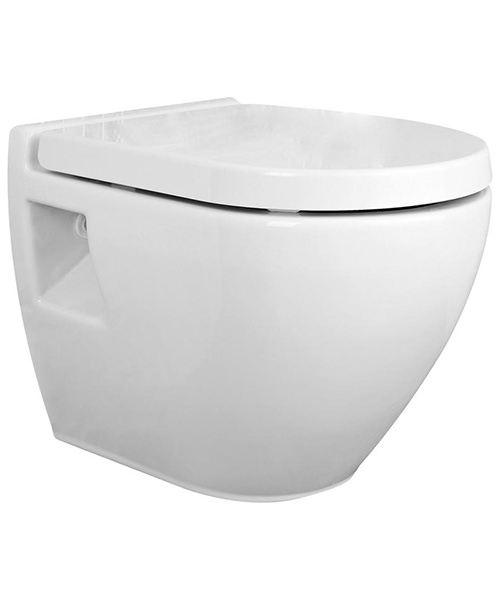 Premier Marlow Wall Hung WC Pan 510mm And Seat