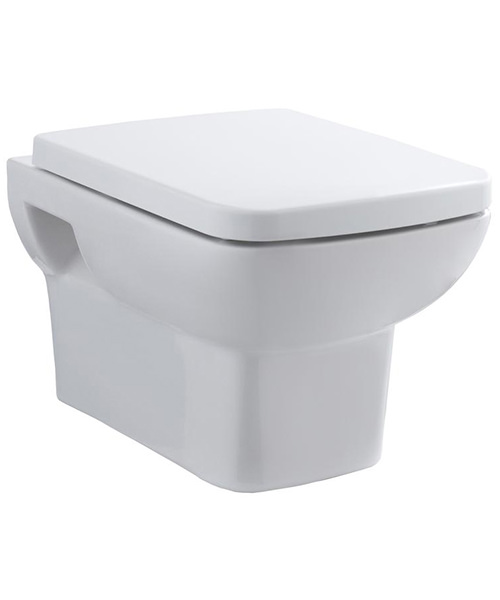 Premier Ambrose 350 x 525mm Wall Hung Toilet With Seat