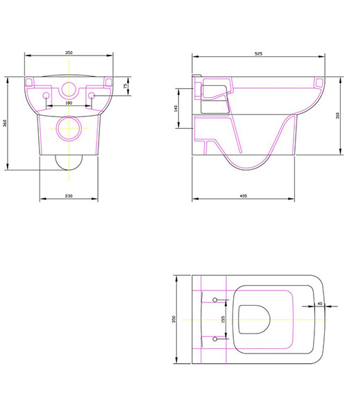 Technical drawing 2552 / NCU700C