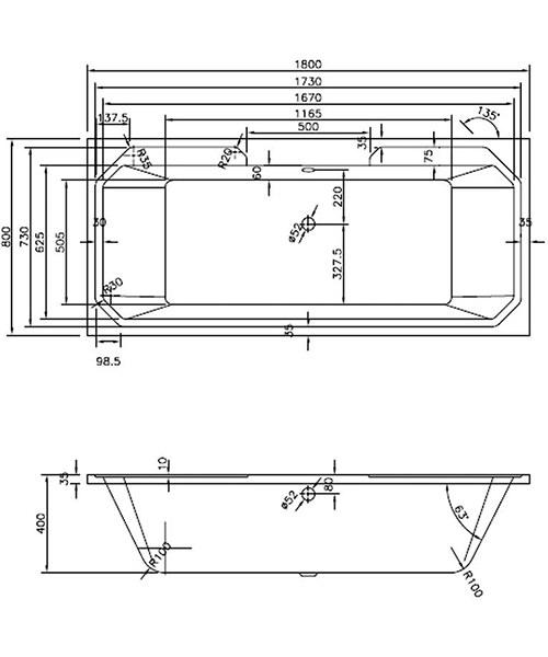 Technical drawing 48804 / NLB114