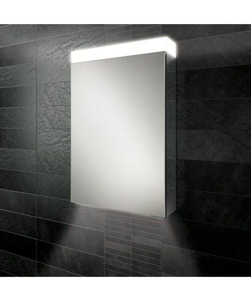 HIB Apex 50 Single Door LED Aluminium Cabinet 500 x 750mm