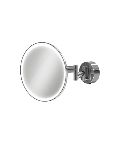 HIB Eclipse Round LED Illuminated Magnifying Mirror