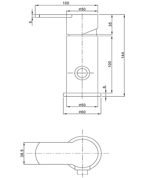 Technical drawing 13177 / WP0005DC