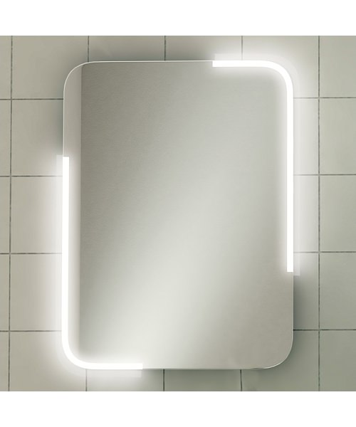 HIB Orb 50 LED Illuminated Bathroom Mirror 500 x 700mm