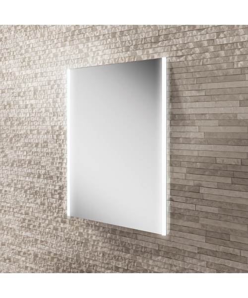 HIB Zircon LED Illuminated Bathroom Mirror 500 x 700mm