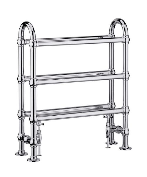 Heritage Oakham Clothes Horse Heated Towel Rail 685 x 780mm
