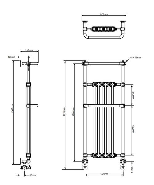 Technical drawing 18370 / AHC102