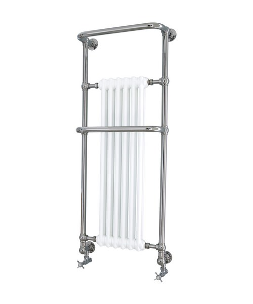 Heritage Cabot Wall Hung Heated Towel Rail 576 x 1413mm