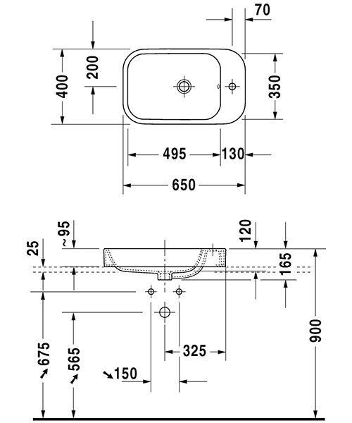 Technical drawing 12489 / 2317650000