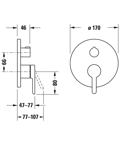 Technical drawing 34912 / C15210012010