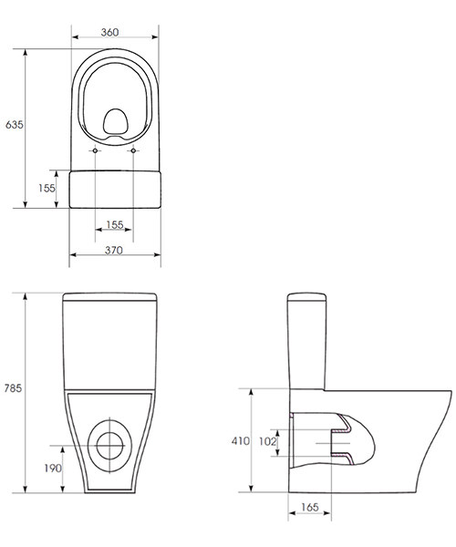 Technical drawing 54207 / PR090