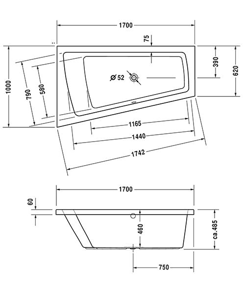 Technical drawing 50489 / 760212000JS1000