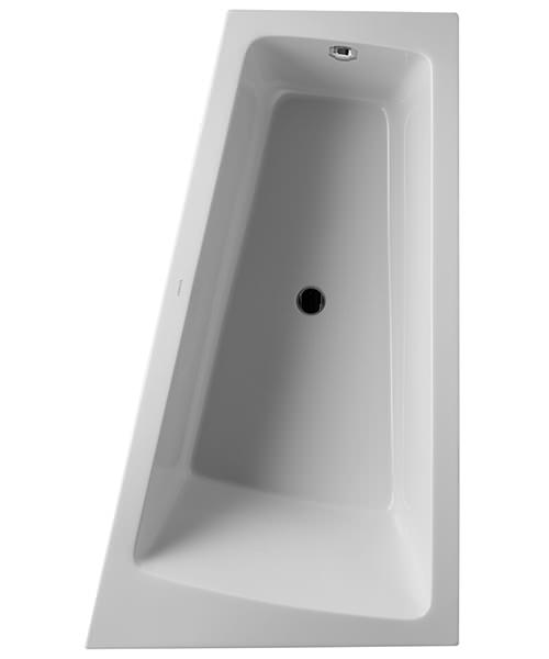 Duravit Paiova Right-Left Backrest Slope Bath With Panel And Frame - 1700mm x 1000mm