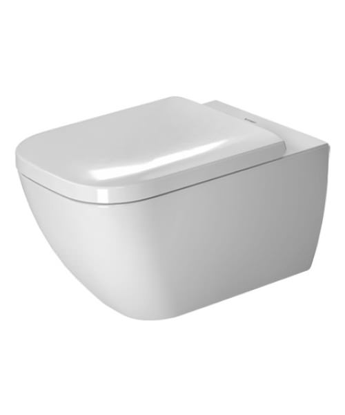 Duravit Happy D.2 365 x 540mm Wall Mounted Rimless Toilet