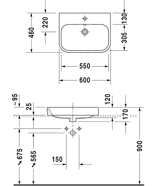 Technical drawing 12485 / 2315600000
