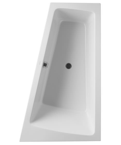 Duravit Paiova 1700 x 1000mm Built In Bath With Right Slope