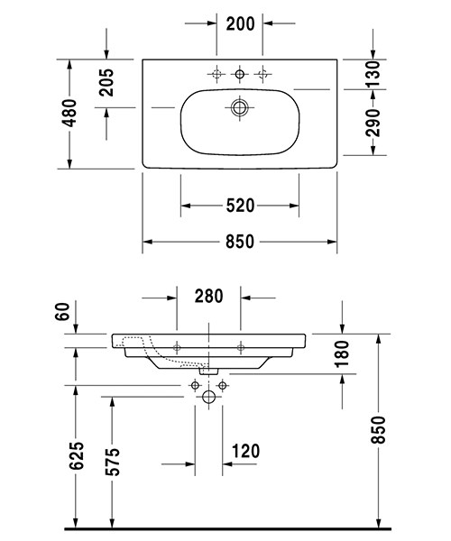 Technical drawing 37560 / 03528500702