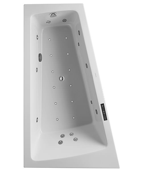 Duravit Paiova 1700 x 1000mm Left Slope Bath With Panel And Combi System L