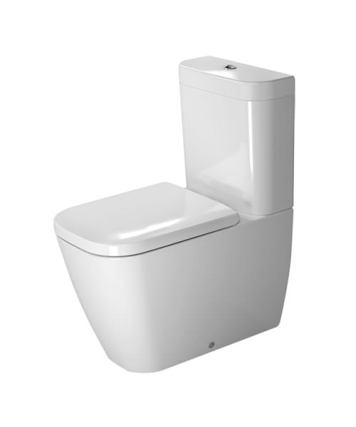 Duravit Happy D.2 365 x 630mm Close Coupled WC With Dual Flush Cistern