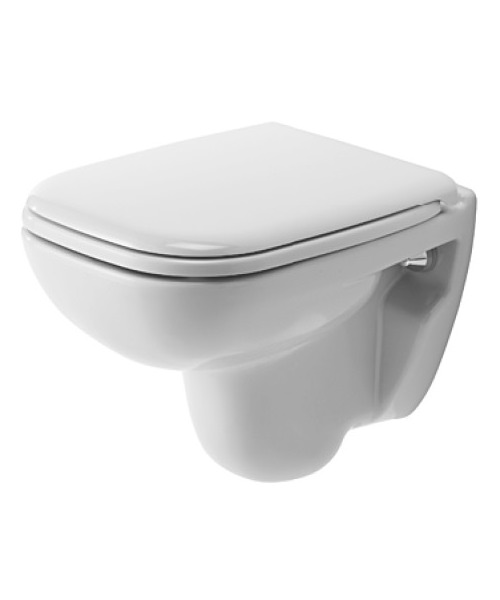 Duravit D-Code 480mm Wall Mounted Toilet Compact - 22110900002