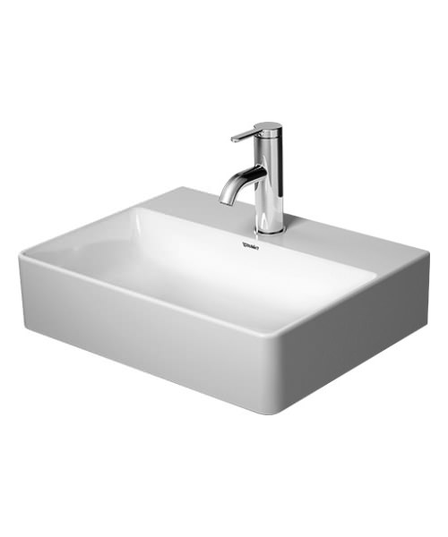Duravit DuraSquare 450mm Handrinse Basin With 1 Tap Hole