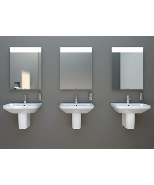 Alternate image of Duravit DuraStyle 600 x 440mm 1 Taphole Washbasin With Overflow