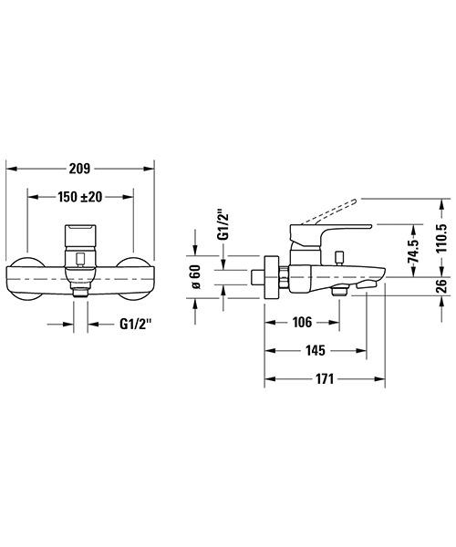 Technical drawing 54141 / B15230000010