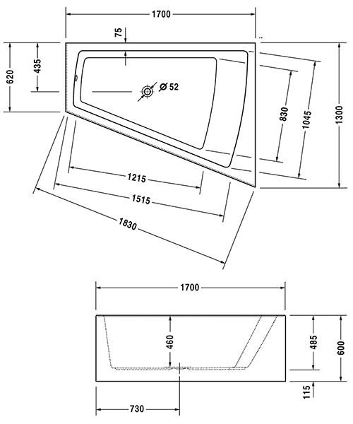 Technical drawing 27389 / 700267000000000