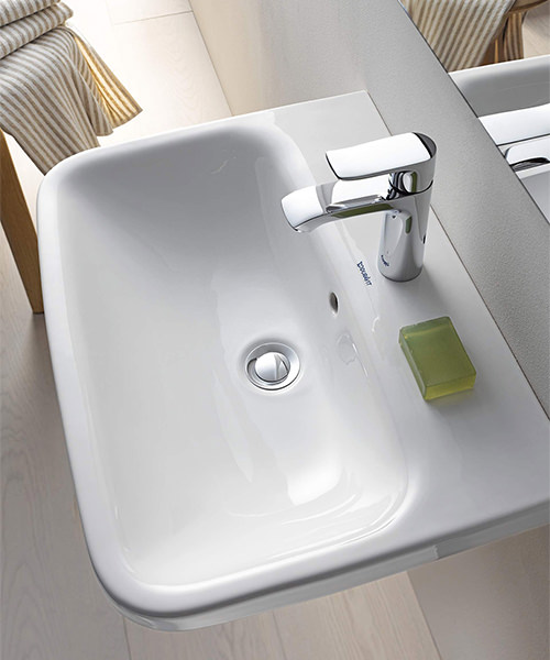 Additional image of Duravit DuraStyle 600 x 440mm 1 Taphole Washbasin With Overflow