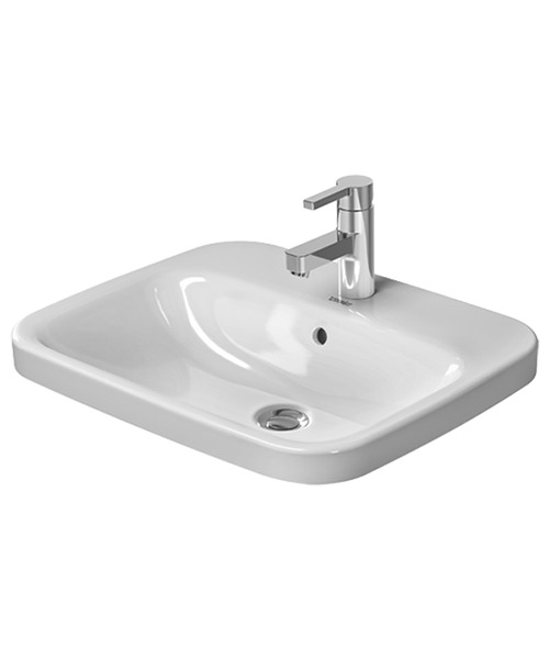 Duravit Durastyle 560 x 455mm 1 Tap Hole Counter Top Vanity Basin
