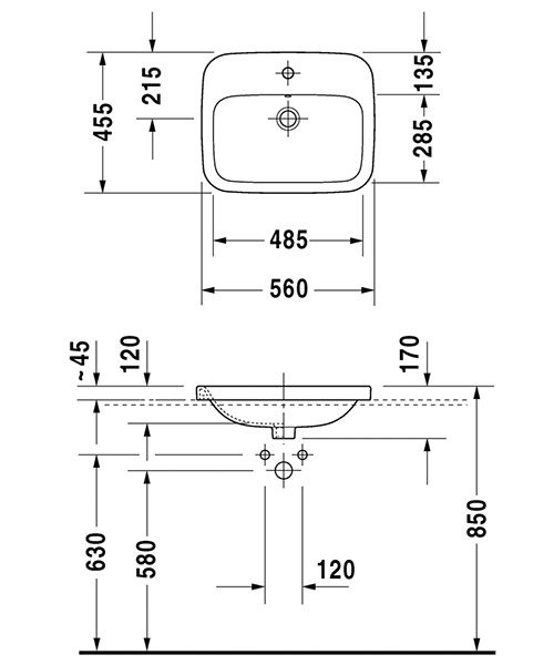 Technical drawing 27280 / 0374560000