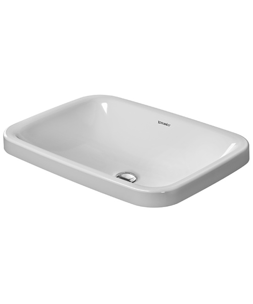 Duravit Durastyle 600 x 430mm Counter Top Vanity Basin