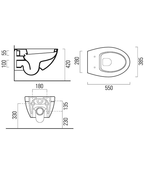 Technical drawing 54265 / 7712