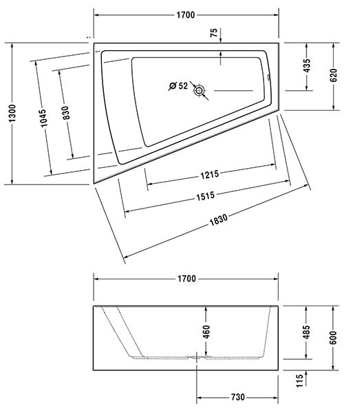 Technical drawing 27403 / 760264000JS1000